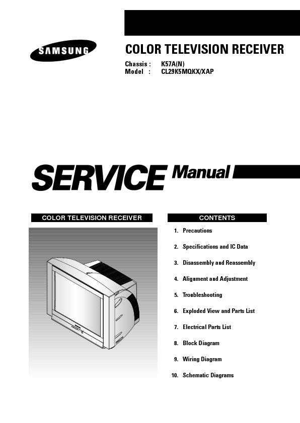 Samsung CL29K5MQ Chasis K57A.pdf