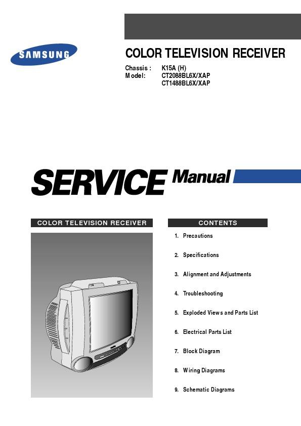 Samsung CT1488_BL6X_XAP_Chasis K15A_H.pdf