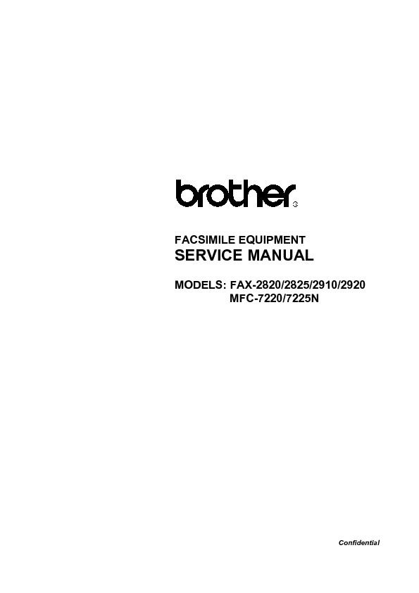 Brother Fax-2820,2825,2910,2920,MFC-7220,7225N.pdf