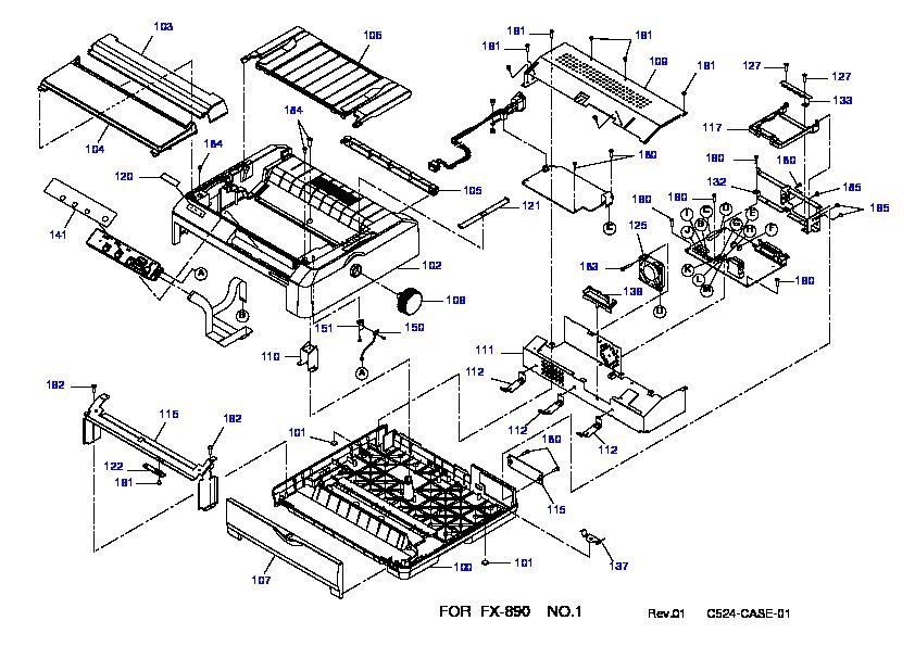 epson fx890 fx890 1 pdf diagramas de impresoras  u2013 diagramasde com  u2013 diagramas electronicos y