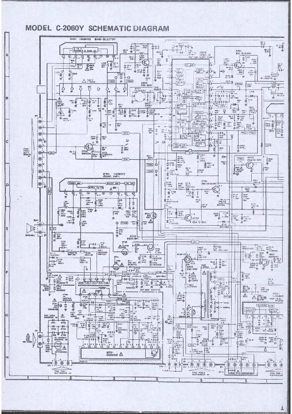Sharp C 2070y C 2060y Pdf Diagramas De Televisores Lcd Y