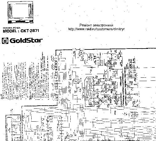 sharp goldstar ckt goldstar ckt2871 pdf diagramas de televisores lcd y plasma  u2013 diagramasde com