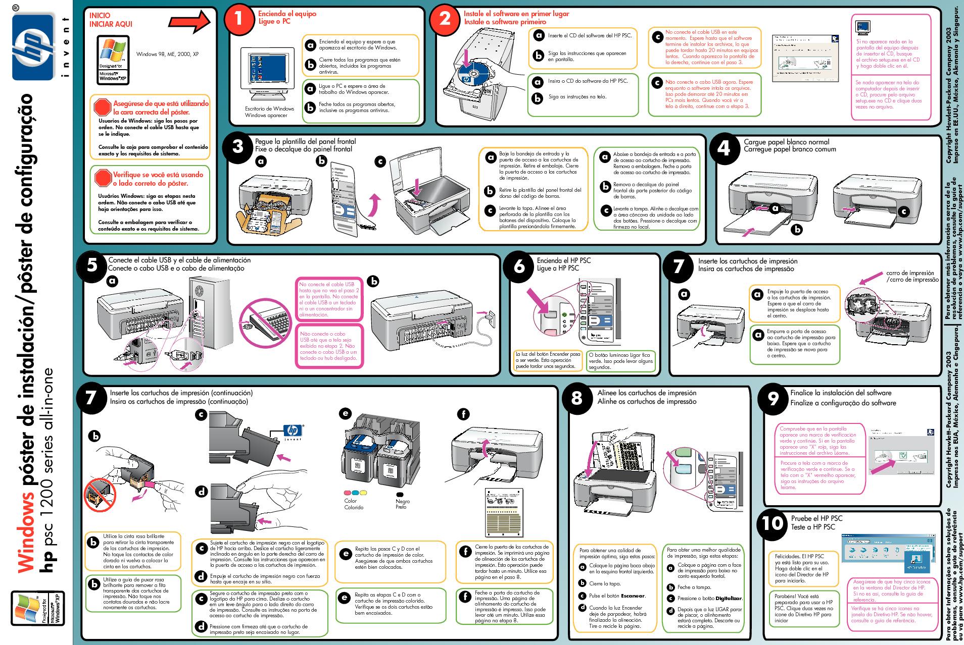 Hp Manual De Usuario Hp Psc 1210  Hp2 Pdf Diagramas De Impresoras  U2013 Diagramasde Com  U2013 Diagramas