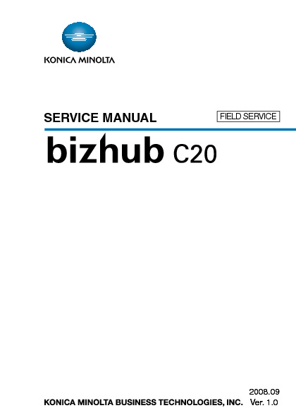 bizhub C20 S.M. Field Service.pdf