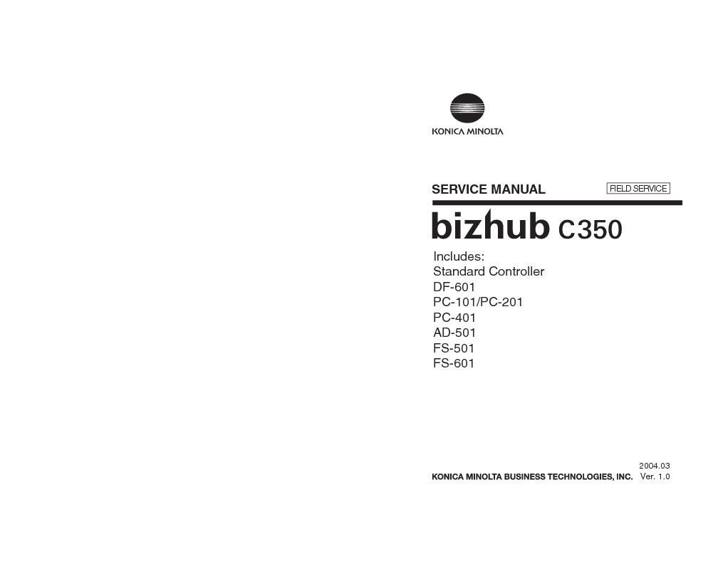 bizhub C350 Field Service.pdf