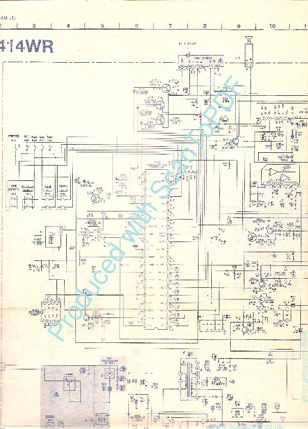 Sony Kv 1414wr Pdf Diagramas De Televisores Lcd Y Plasma