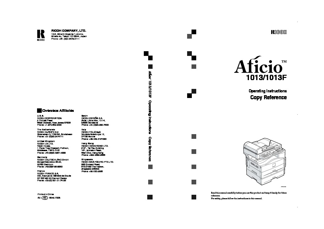 ricoh aficio 1013 aficio 1013 pdf diagramas de impresoras  u2013 diagramasde com  u2013 diagramas