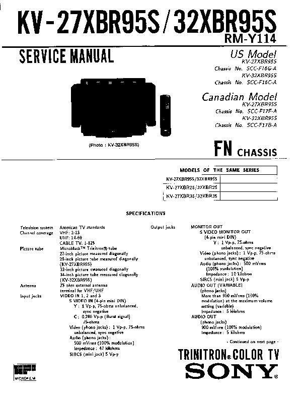 KV-27XBR95S.pdf
