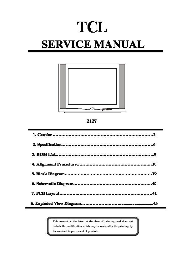 tcl 2127 Service Manual.pdf