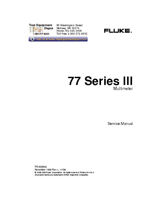 Fluke 77 Series III multimeters.pdf