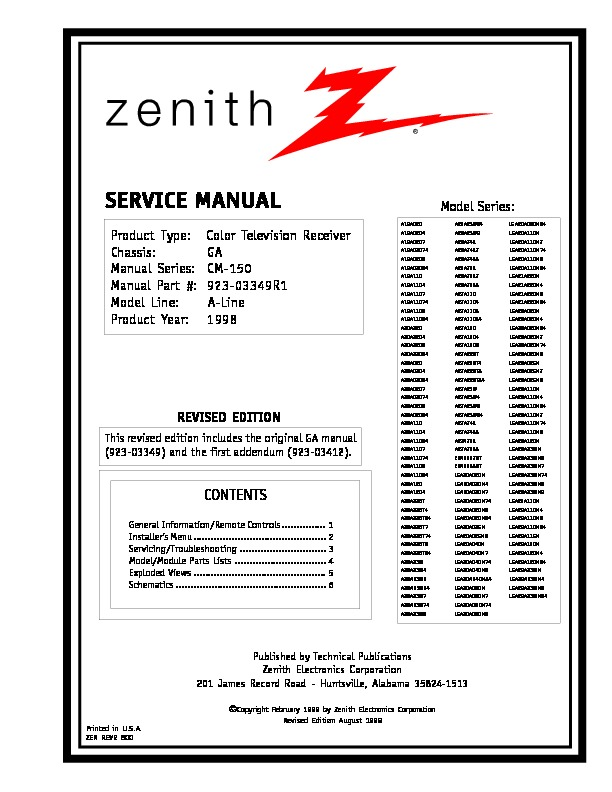 Zenith LGA29A23WM.pdf