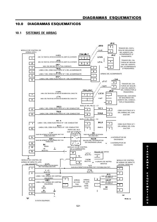 Chrysler Cirrus Sebring Y Stratus 2000 2002 Pdf Diagramas De Autos  U2013 Diagramasde Com  U2013 Diagramas