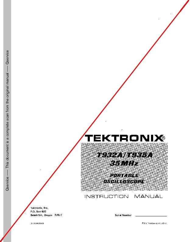 tektronix t932a.pdf