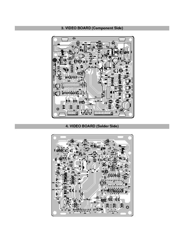 Lg Studioworks55i Cs546 8 V Pdf Diagramas De Monitores