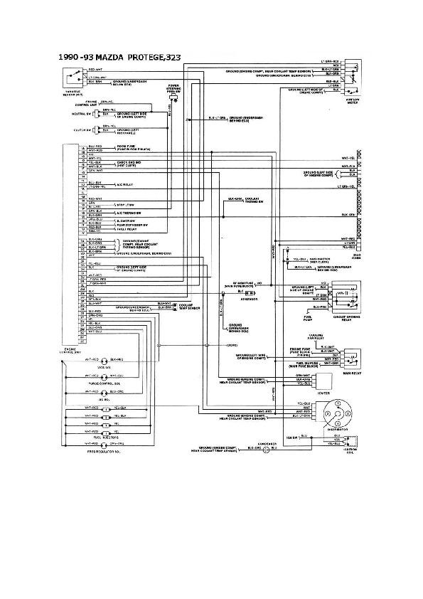 Mazda       Mazda       323    16 esqmzd033 pdf Diagramas de autos
