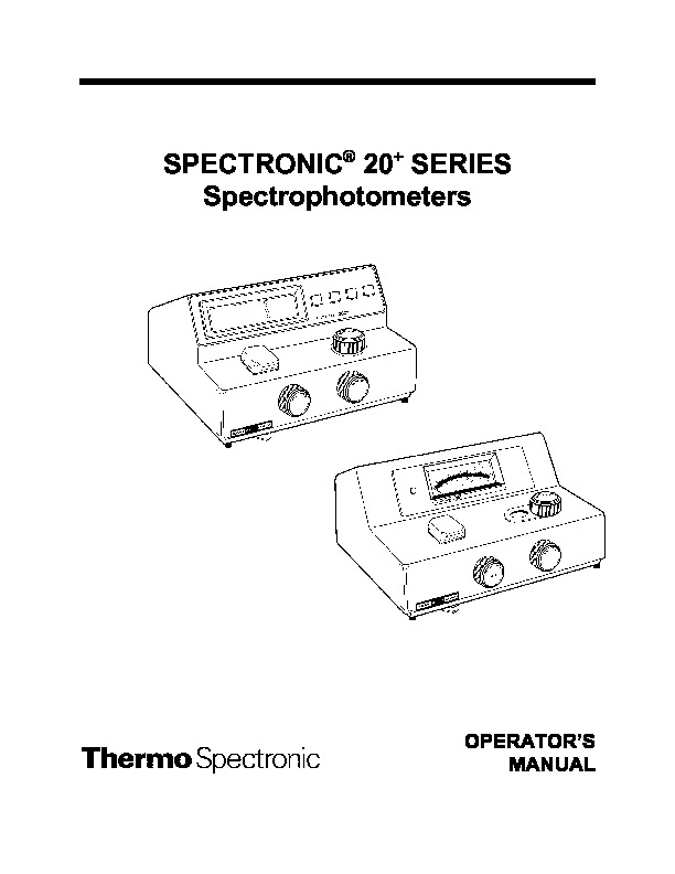 Manual del Operador Spectronic 20.pdf