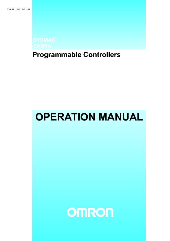 OMRON CPM1A+OperManual.pdf