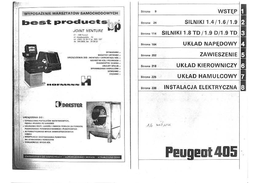 Peugeot Peugeot 405 Pdf Diagramas De Autos  U2013 Diagramasde
