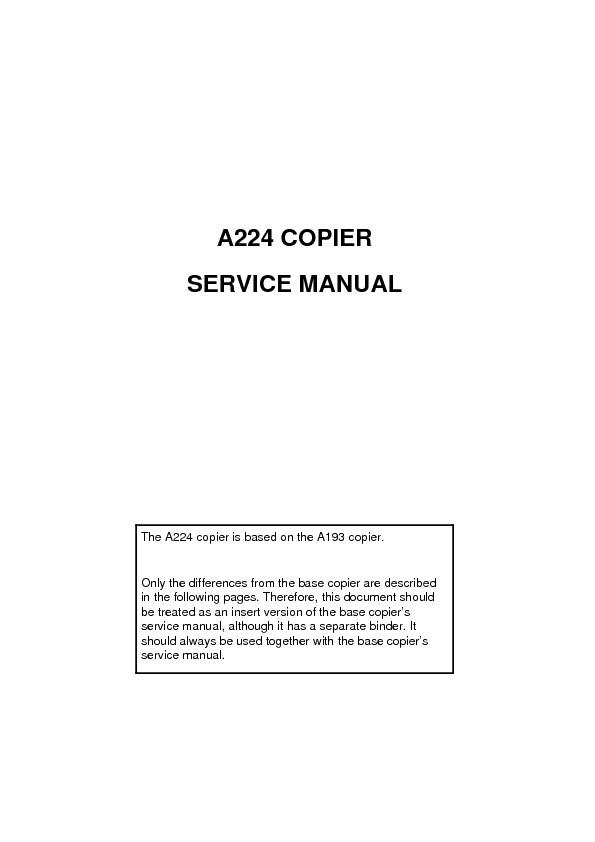 Manual de Servicio Aficio 200-250.pdf