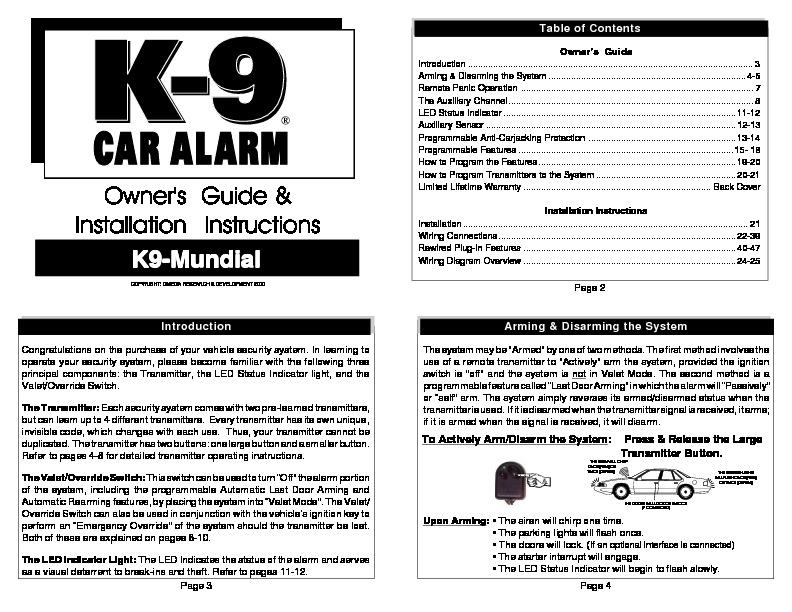 Manual Conexiones Alarma K9 Mundial K9 Mundial Pdf Diagramas De Alarmas  U2013 Diagramasde Com
