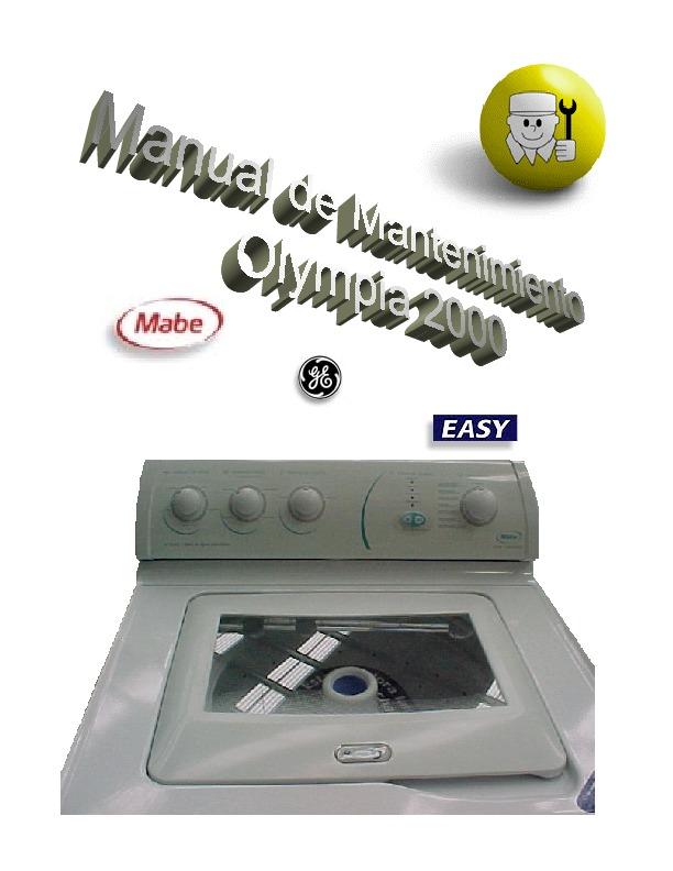 Easy Lavadora S Easy Id System Manual Para Lavadoras Id System Mabe Easy Pdf Diagramas De