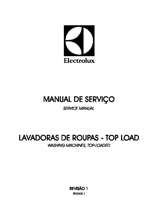 Electrolux Manual Completo Electrolux Manual De Servico