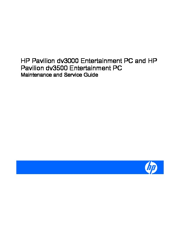 service-manual-HP-Pavilion-dv3000.pdf