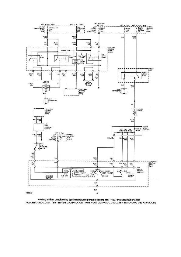 Ford Escort 45  48 Fordesc45 Pdf Diagramas De Autos