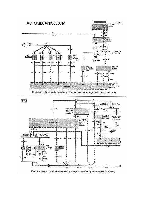 Ford Escort 11  48 Fordesc7 Pdf Diagramas De Autos