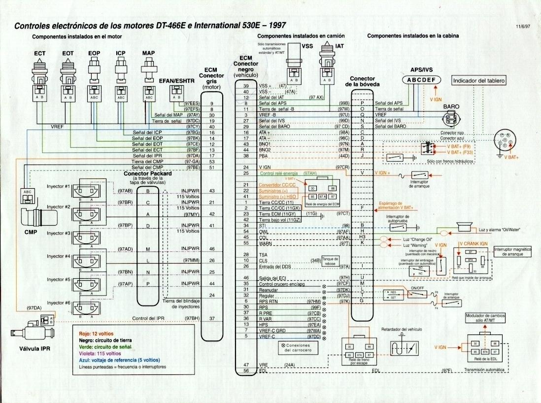 Vt 365 Diesel Diagrama 1 Modulo Jpg Diagramas De Autos