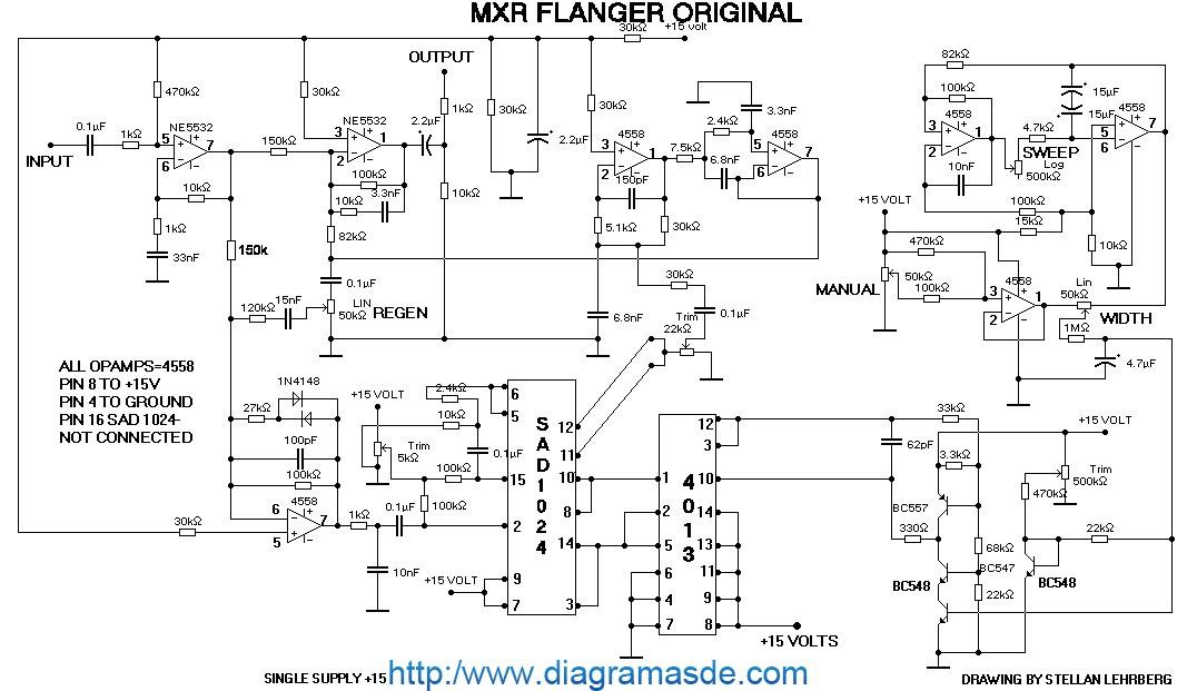 MXR flanger pedal schematic.pdf