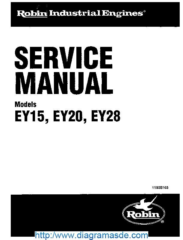 Subaru Robin EY20 Manual de Servicio.pdf