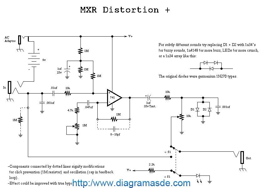 MXR distortion pedal schematic.pdf