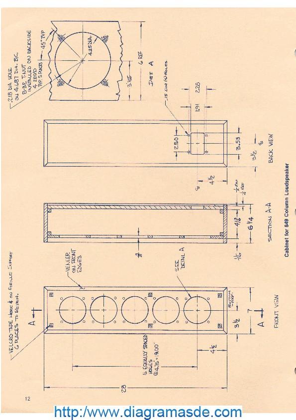 Cabinet for 849 Column Loudspeaker.pdf