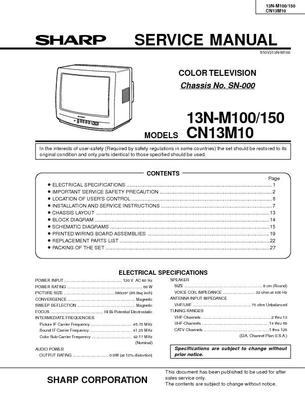 Sharp MOD. 13NM100 ChASSIS SN-000.pdf