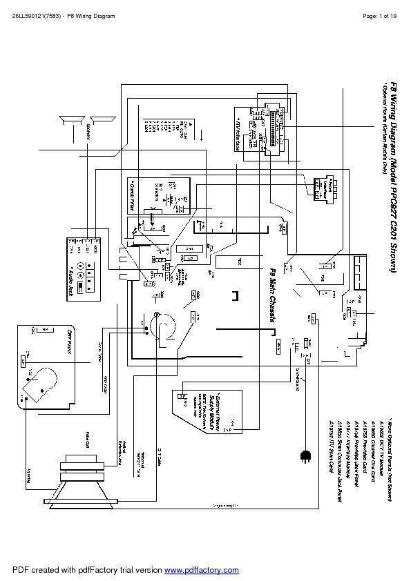 TV PHILIPS CHASSI F 8 .pdf