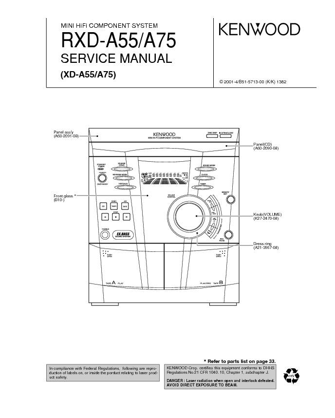 Kenwood RXD-A55, 75.pdf