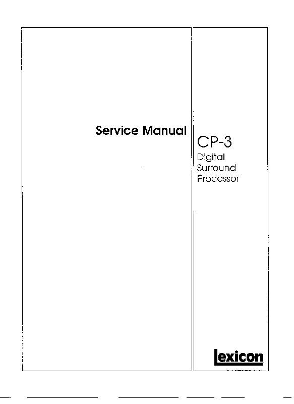 JBL_CP3 DIGITAL SURROND PROCESSOR.pdf