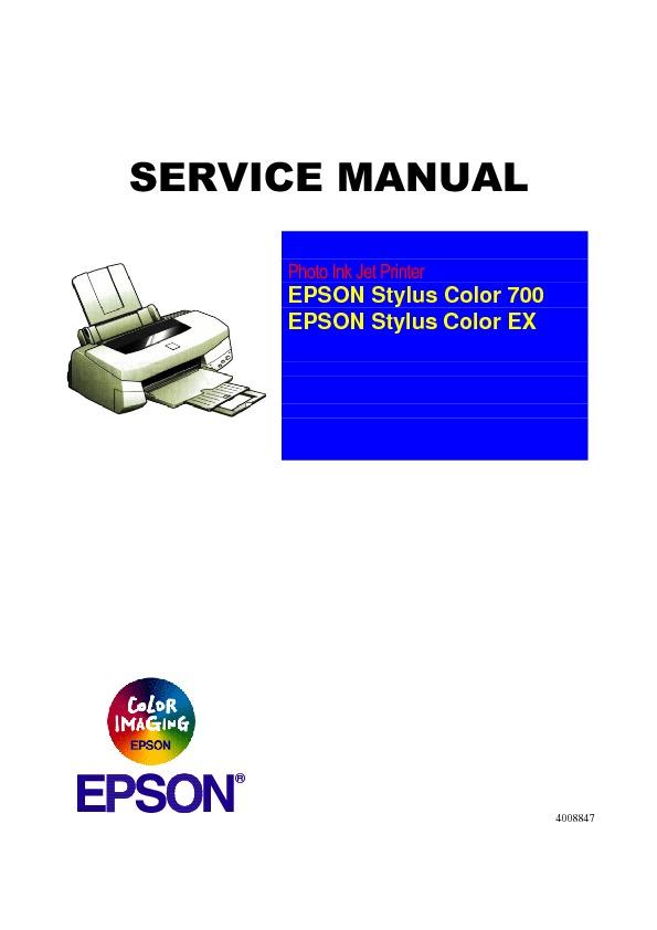 EPSON STYLUS PHOTO 700 .pdf