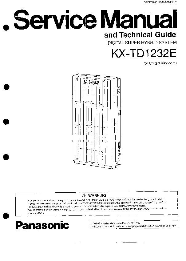 PANASONIC KX-TD1232E.pdf