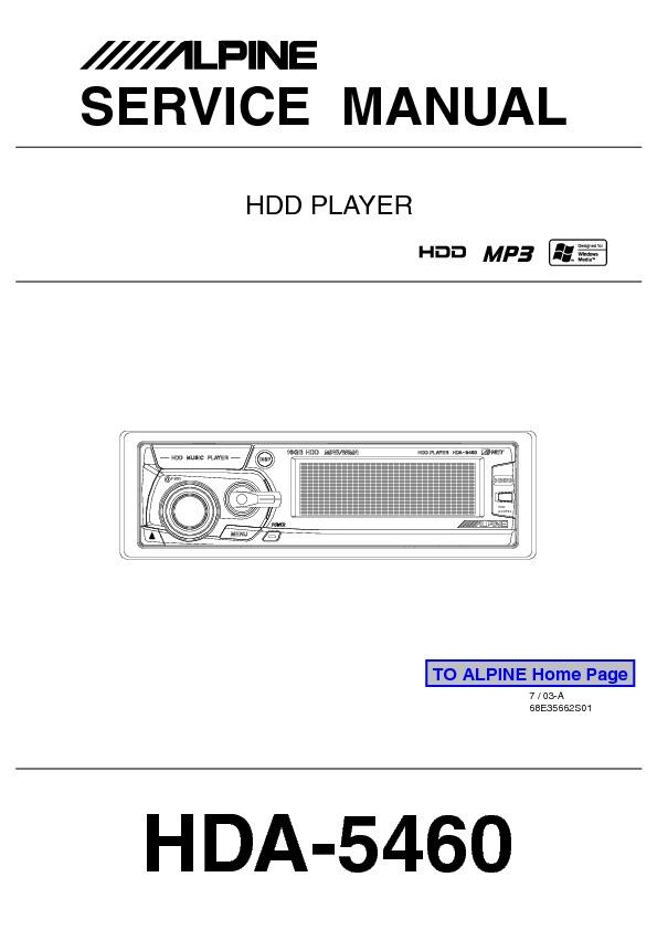 Alpine_HDA-5460 HDD player - car audio.pdf