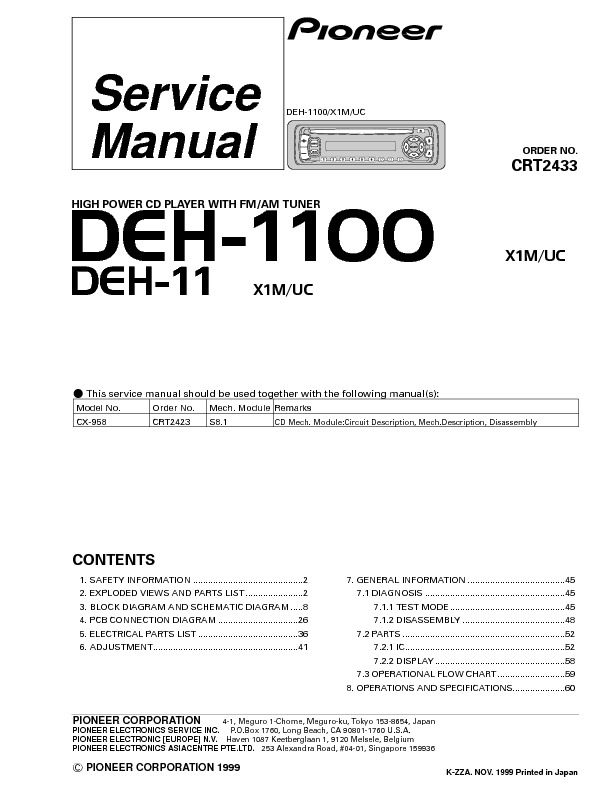 DEH-1100,11 high power cd player with tuner.pdf