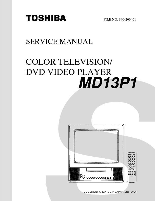 Md13p1svm Toshiba Service Manual Pdf Toshiba  U2013 Diagramasde