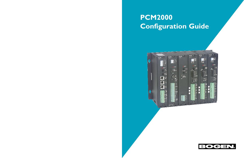 Bogen PCM2000 Configuration Guide.pdf