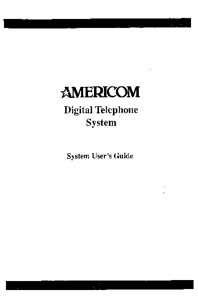 Comdial Americom Digital Telephone Sys Sta User Guide.pdf