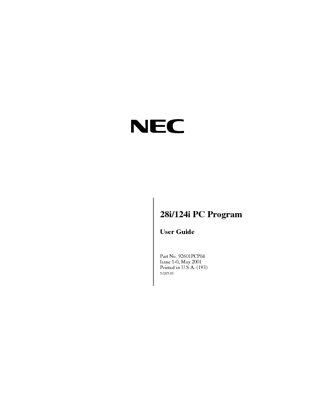 NEC i-series 28i 124i pc pgm user guide.pdf