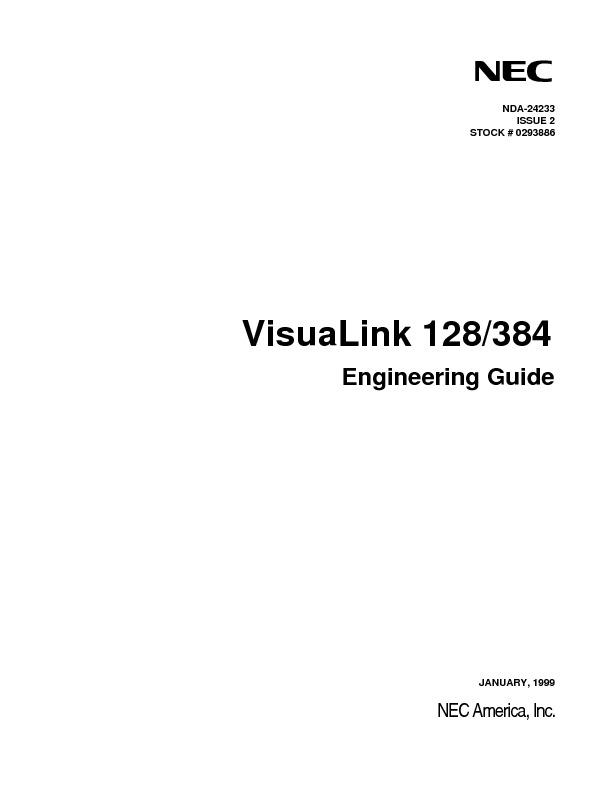 NEC VisuaLink 128-384 Engineering Guide.pdf