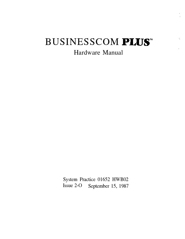 Businesscom Plus Hardware Manual.pdf