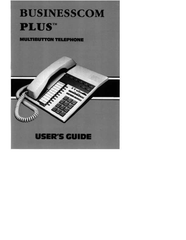 Businesscom Plus Multibutton Telephone UG.pdf