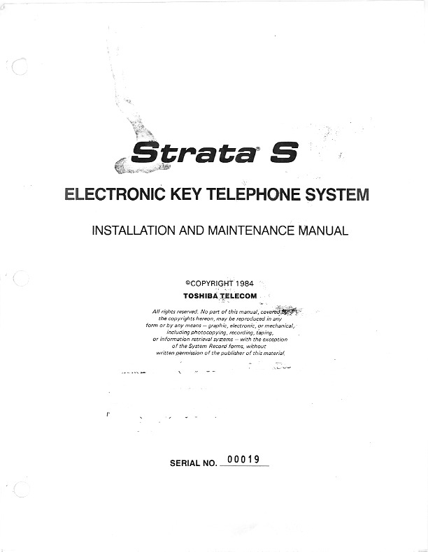 Strata S Installation Manual Jul 1984.PDF